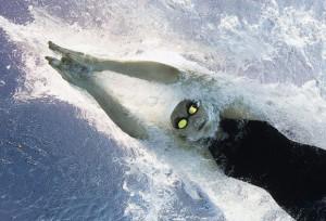 Mondial de natation en 2009 à Rome © AFP François Xavier Marit